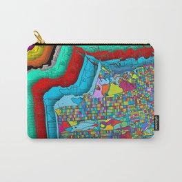 San Francisco Color Burst Carry-All Pouch