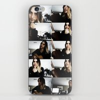 jared leto iPhone & iPod Skins featuring Jared Leto by ScarTissue