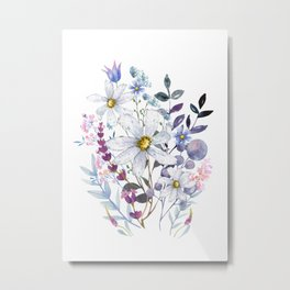 Wildflowers V Metal Print