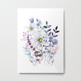 Wildflowers V Metal Print