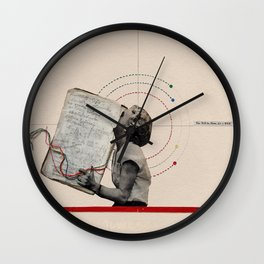 Themes of Colour Wall Clock