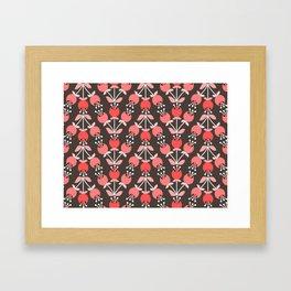 Daily pattern: Retro Flower No.8 Framed Art Print