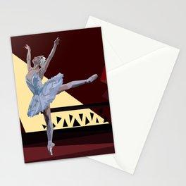 'Swan Lake Ballerina' Stationery Cards