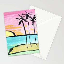 Graphic Palms Stationery Cards