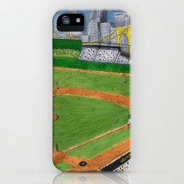 Pittsburgh Baseball (Interior) iPhone Case