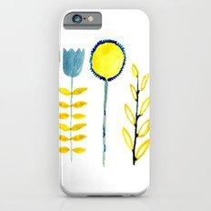 simple flowers iPhone 6s Slim Case