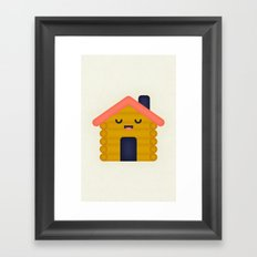 Cabin Framed Art Print
