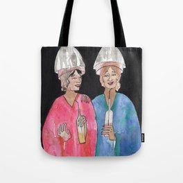 Sipping Salon Gossip Tote Bag