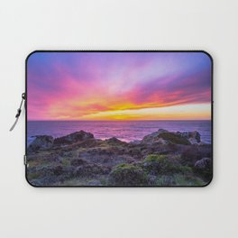 California Dreaming - Brilliant Sunset in Big Sur Laptop Sleeve