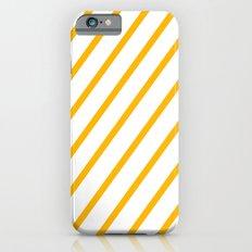 Yellow summer stripes Slim Case iPhone 6s