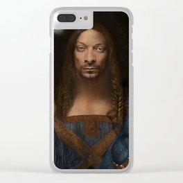 Sativator Mundi Clear iPhone Case