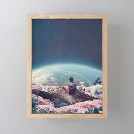 My World Blossomed when I Loved You Framed Mini Art Print