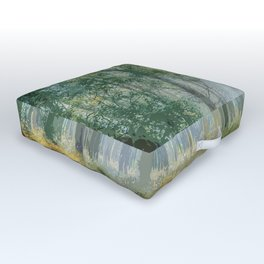 Deep Within the Forest Trees Outdoor Floor Cushion