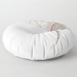 Tiger Dragon Floor Pillow