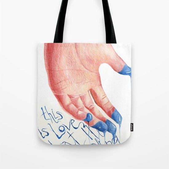this is LOVE Tote Bag