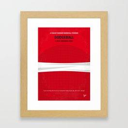 No617 My Dodgeball minimal movie poster Framed Art Print