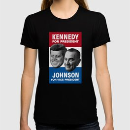 Kennedy And Johnson 1960 Election T-shirt