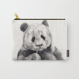 Panda black white Carry-All Pouch