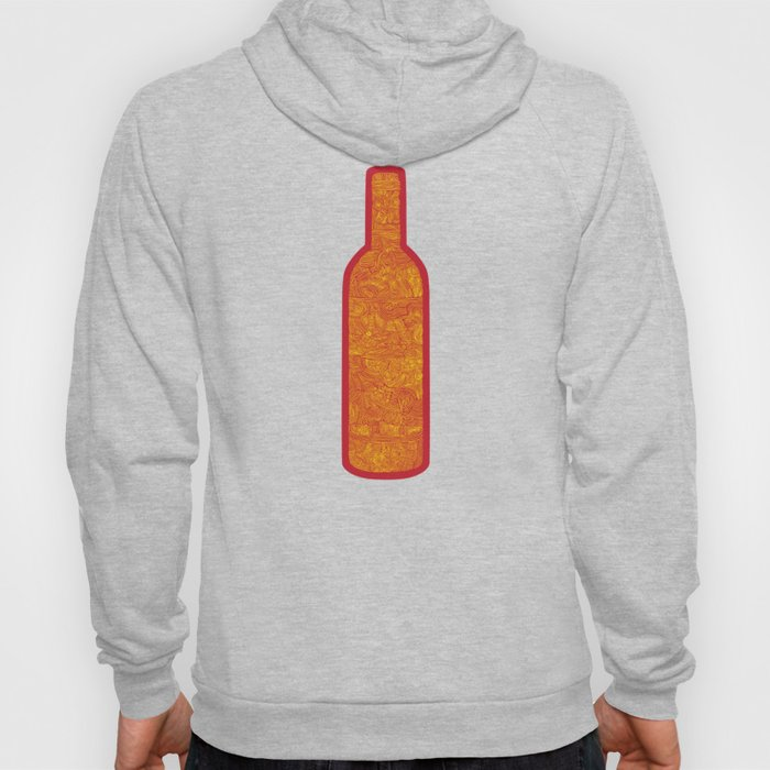 Wine Bottles Hoody