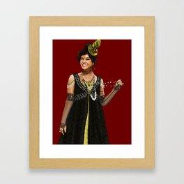 Helene is a Slut Framed Art Print