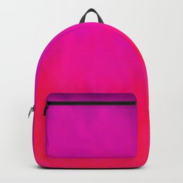 Fuchsia Fire Magenta Violet Ombre Backpack