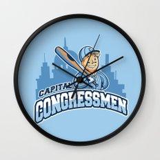 Capital Congressmen Wall Clock