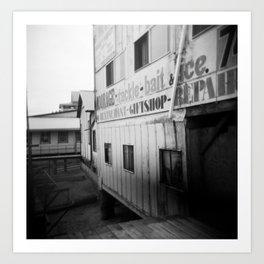 In Behind at Cowichan Bay Art Print