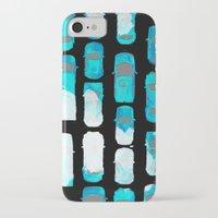cars iPhone & iPod Cases featuring Cars by Anna Pellegrini Annamonium