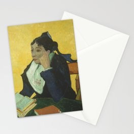 Portrait of Madame Ginoux Stationery Cards