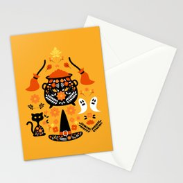Witches Halloween Essentials Stationery Cards