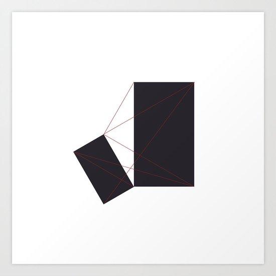 #348 Tension – Geometry Daily Art Print
