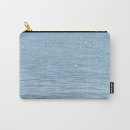 Blue Sparkle Carry-All Pouch