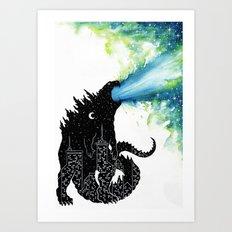 Urban Monster Art Print