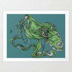 Death of a Siren Art Print
