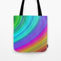 rainbow Tote Bags featuring Rainbow by David Zydd