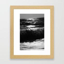 feeling dizzy Framed Art Print