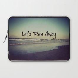 Run Away Laptop Sleeve