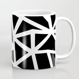 Ab Outline Thicker Black Coffee Mug