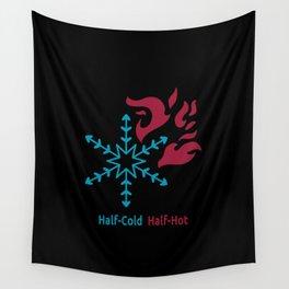 Half-Cold Half-Hot V2 Wall Tapestry