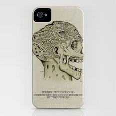 Zombie Phrenology iPhone (4, 4s) Slim Case