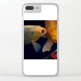 Koi Group Study Clear iPhone Case