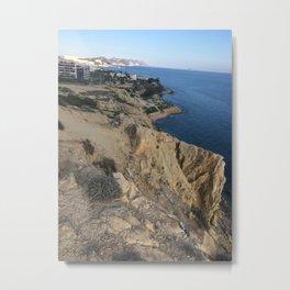 Spain Cliff Metal Print
