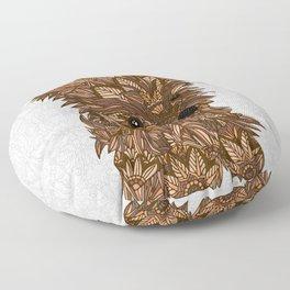 Cute Yorkie Floor Pillow