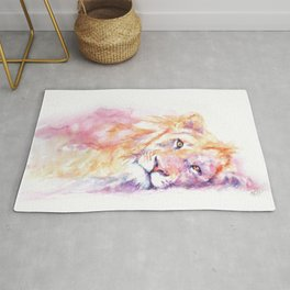 Lazy Days - African Lion Rug
