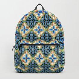 Elizabethan Folkloric Blossoms Backpack