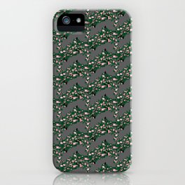 Roses pattern 1b iPhone Case
