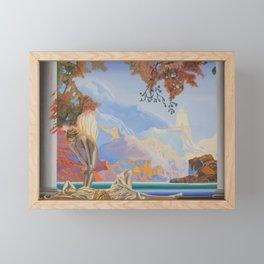 After Maxfield Parrish Framed Mini Art Print