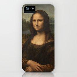 Mona Lisa, Leonardo da Vinci, 1503 iPhone Case