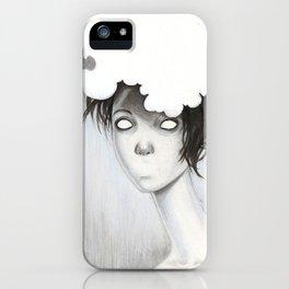 Her Unspoken Delight iPhone Case