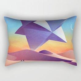 Galaxy desert Mars Rectangular Pillow